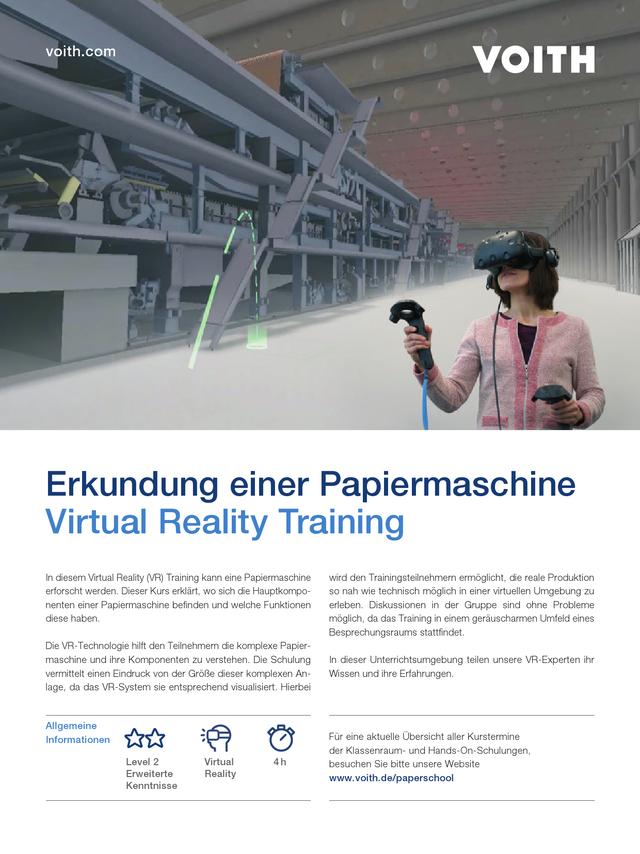 Virtual Reality Trainings