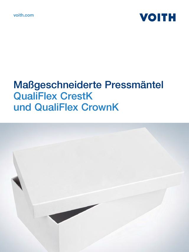 QualiFlex CrestK und QualiFlex CrownK - Maßgeschneiderte Pressmäntel