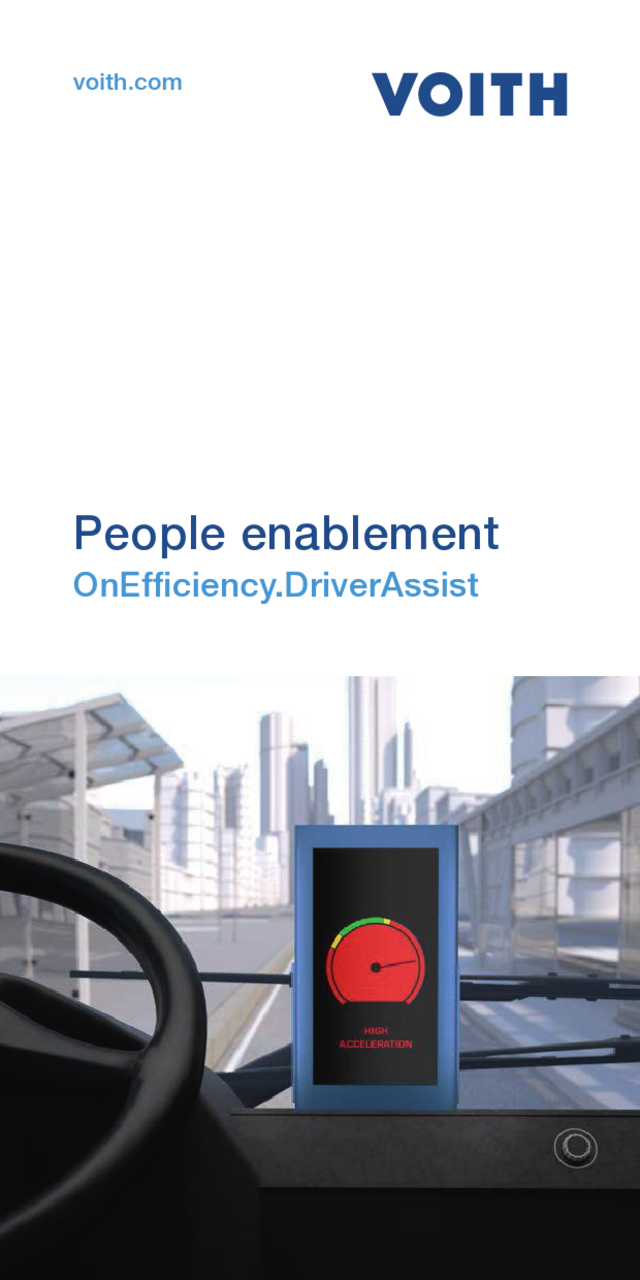 People enablement  OnEfficiency.DriverAssist