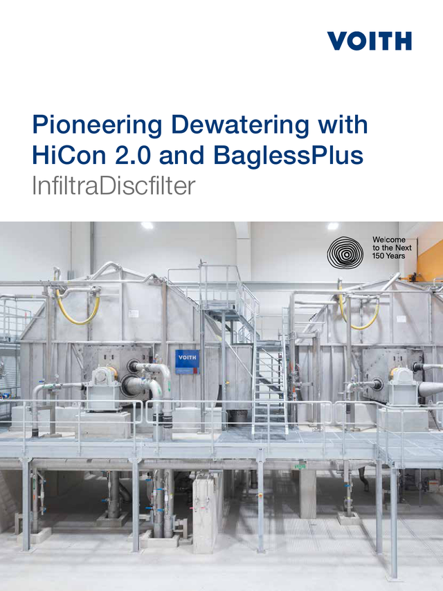 InfiltraDiscfilter - Pioneering Dewatering with HiCon 2.0 and BaglessPlus