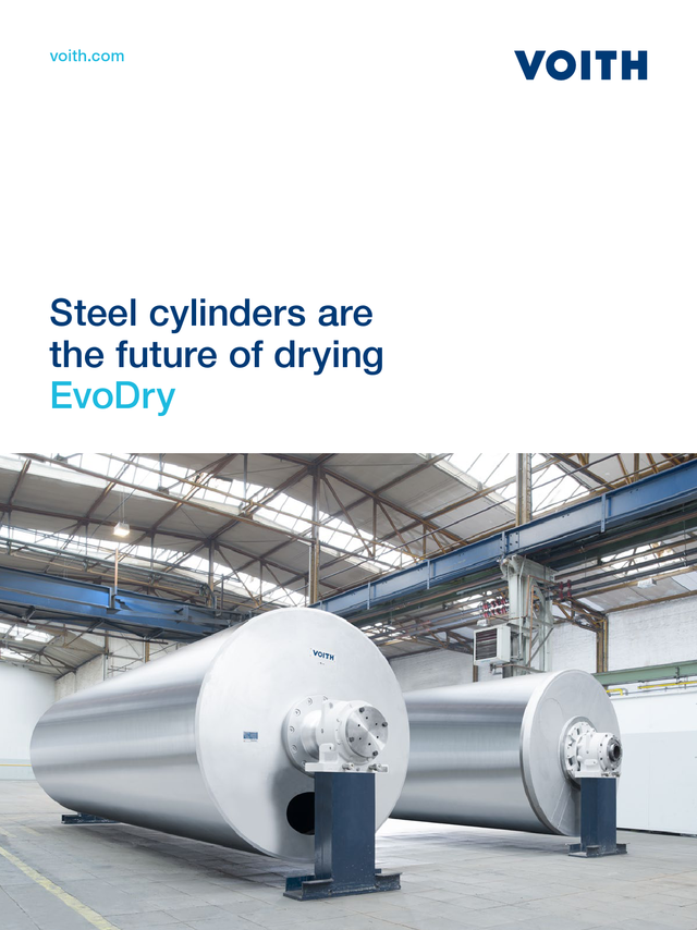 Steel cylinders are the future of drying – EvoDry