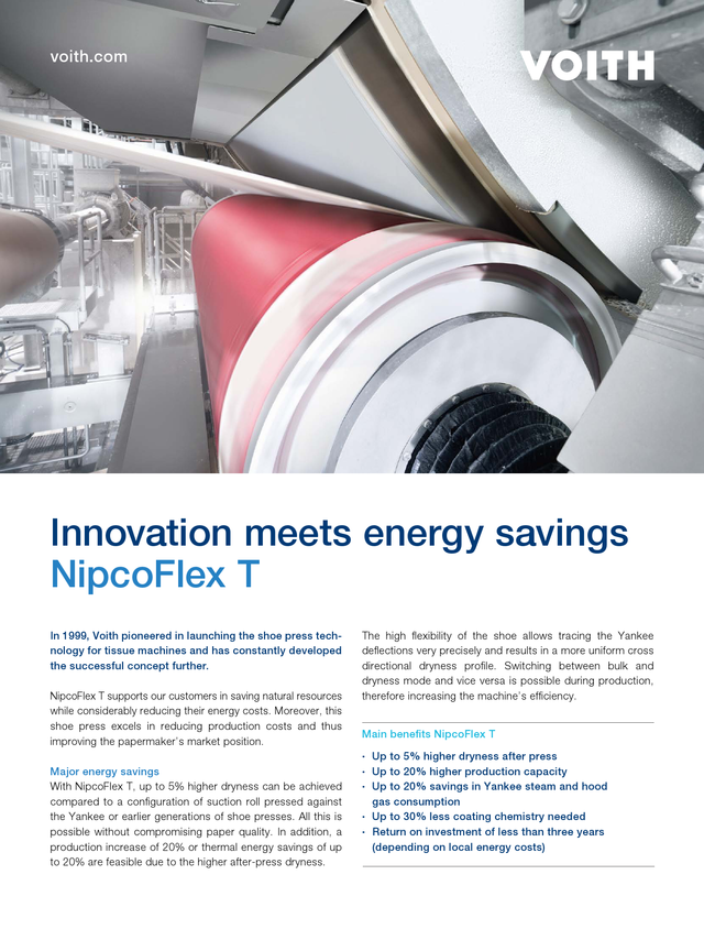 Innovation meets energy savings – NipcoFlex T