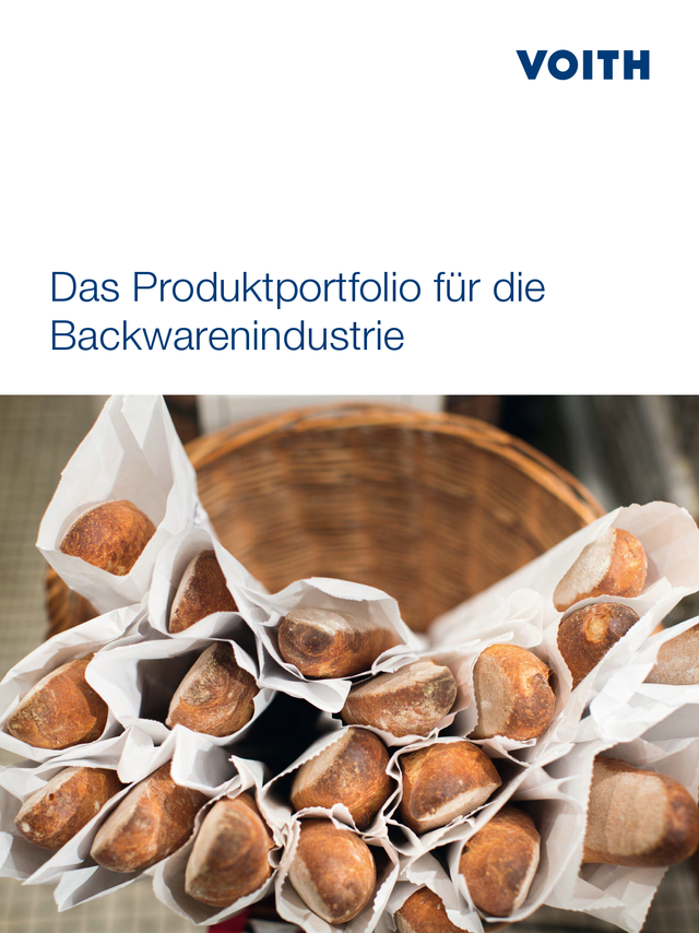 Das Produktportfolio für die Backwarenindustrie