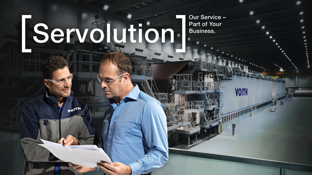 Servolution service solutions for the paper industry
