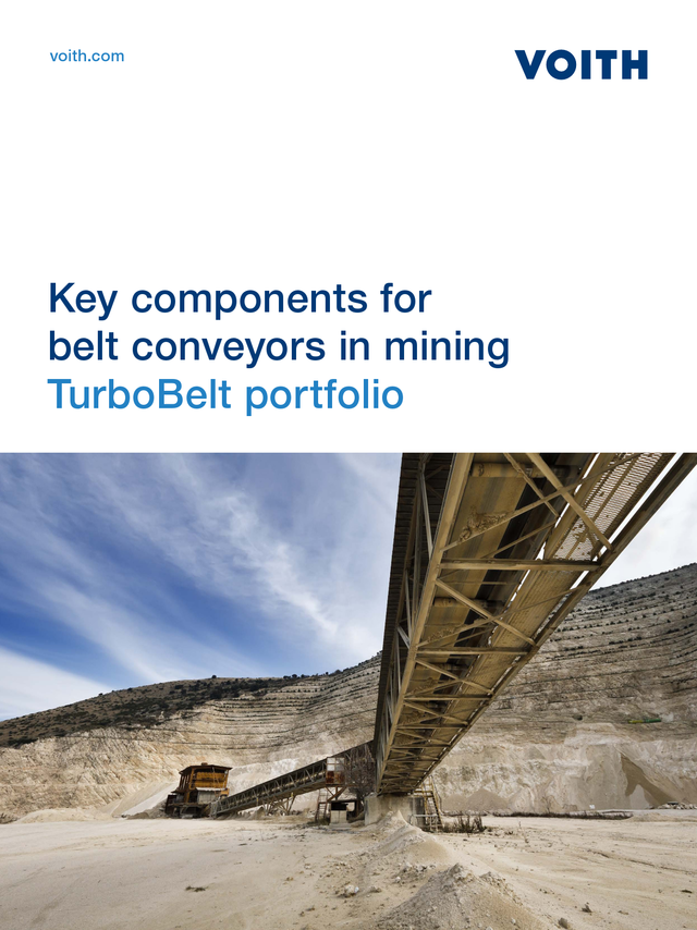 Key components for belt conveyors in mining belt conveyors in mining TurboBelt portfolio