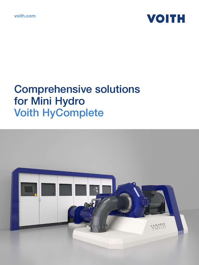 Comprehensive solutions for Mini Hydro