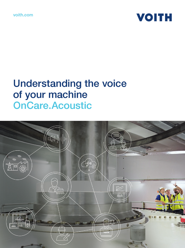 Understanding the voice of your machine - OnCare.Acoustic