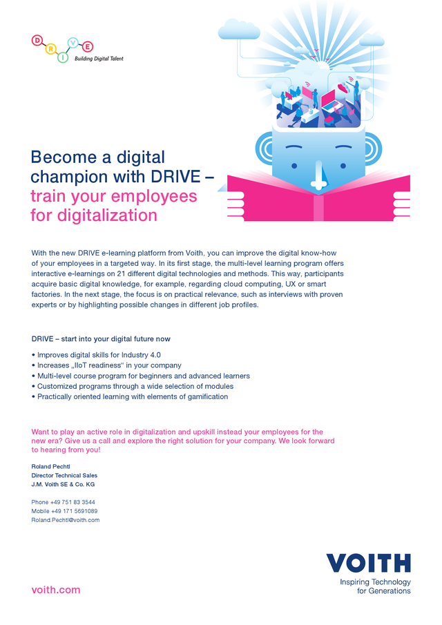 Become a digital champion with DRIVE