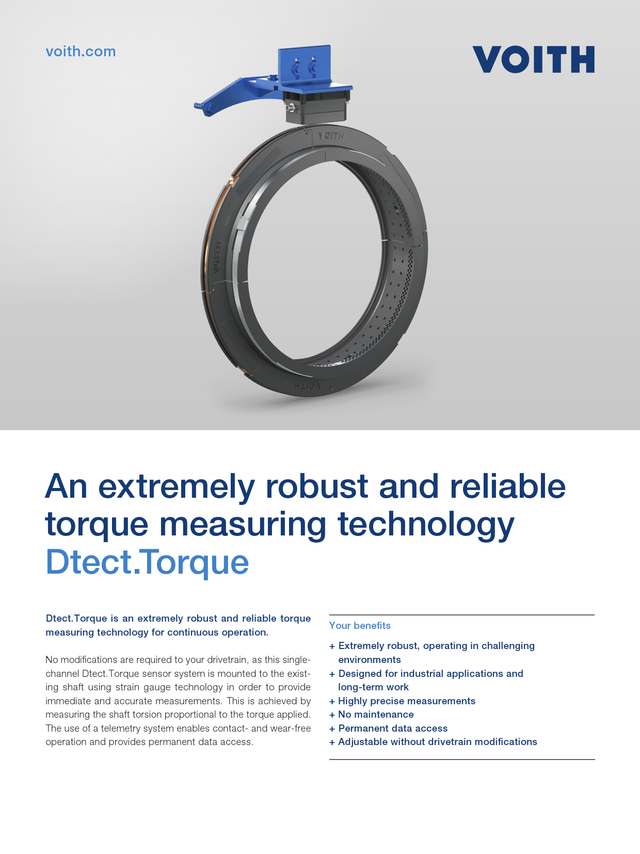 An extremely robust and reliable torque measuring technology | Dtect.Torque
