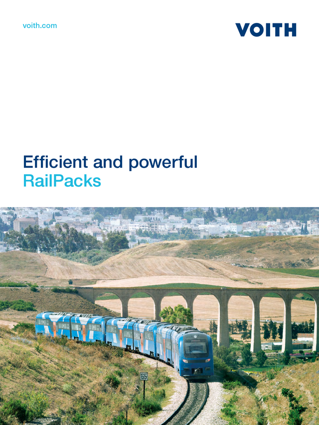 Efficient and powerful - RailPacks