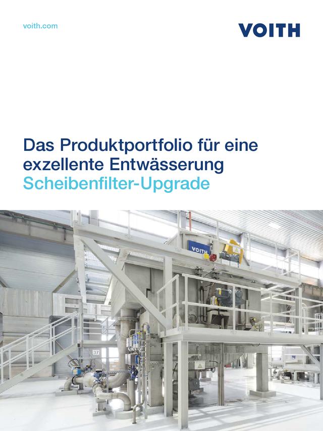 Das Produktportfolio für eine exzellente Entwässerung – Scheibenfilter-Upgrade