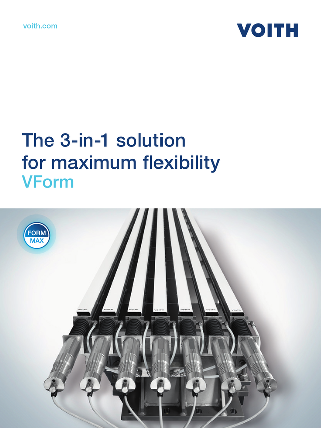 The 3-in-1 solution for maximum flexibility - VForm