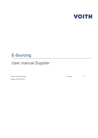Supplier ecosystem | Voith