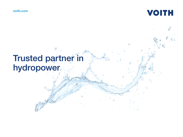 Trusted partner in hydropower