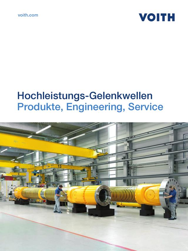 Hochleistungs-Gelenkwellen Produkte, Engineering, Service