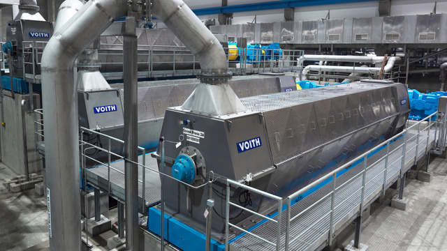 Voith Thune Screw Press