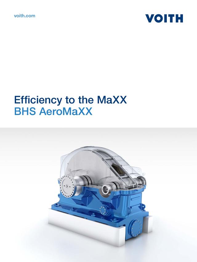 MaXXimale Effizienz  BHS AeroMaXX