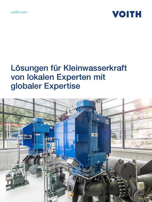 Lösungen für Kleinwasserkraft von lokalen  Experten mit globaler Expertise