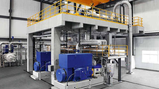 Compact dispersion system for stock preparation by Voith