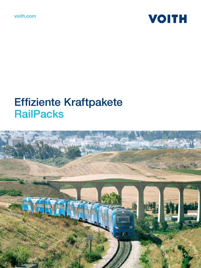 Effiziente Kraftpakete - RailPacks
