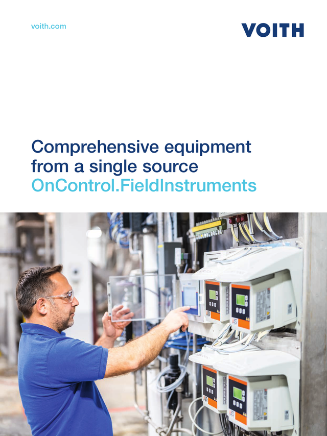 Comprehensive equipment from a single source -              OnC FieldInstruments