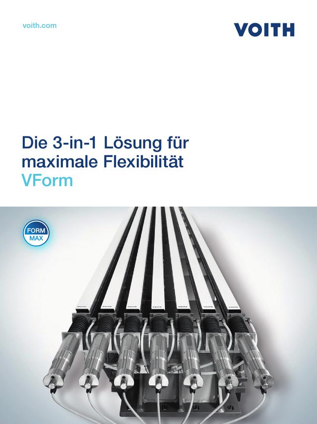 Die 3-in-1 Lösung für maximale Flexibilität - VForm
