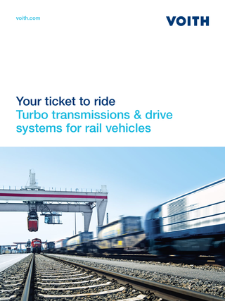 Turbo transmissions | Voith