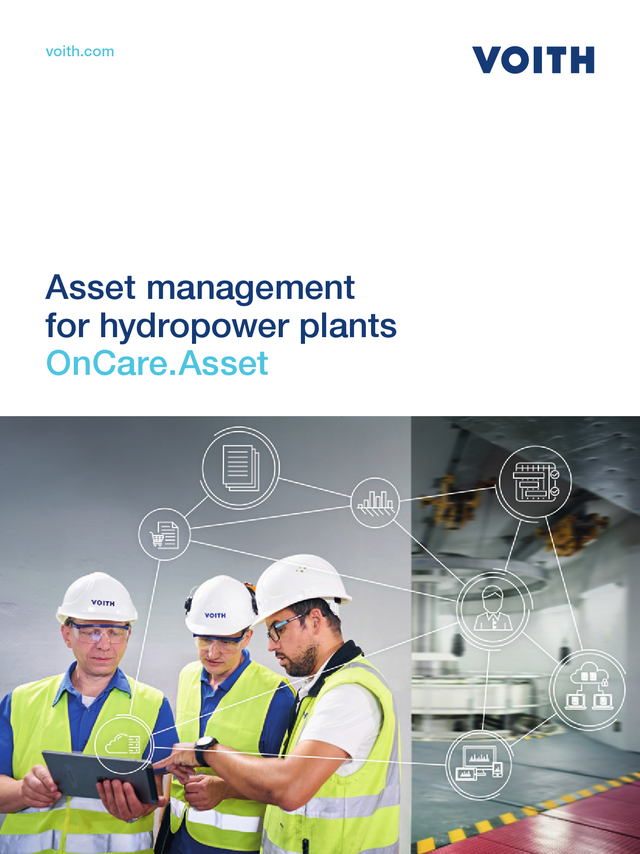 Asset management for hydropower plants OnCare.Asset