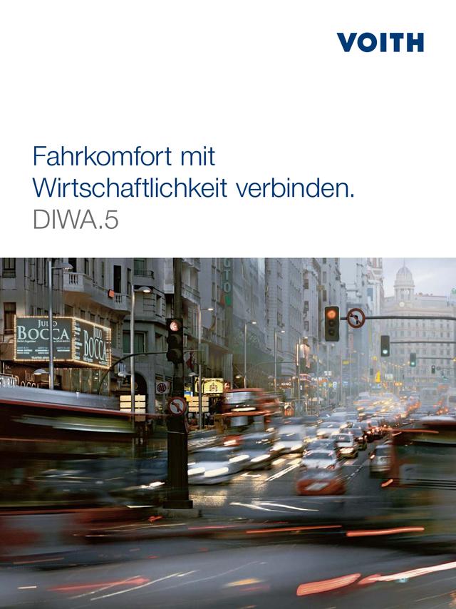 Fahrkomfort mit Wirtschaftlichkeit verbinden. DIWA.5