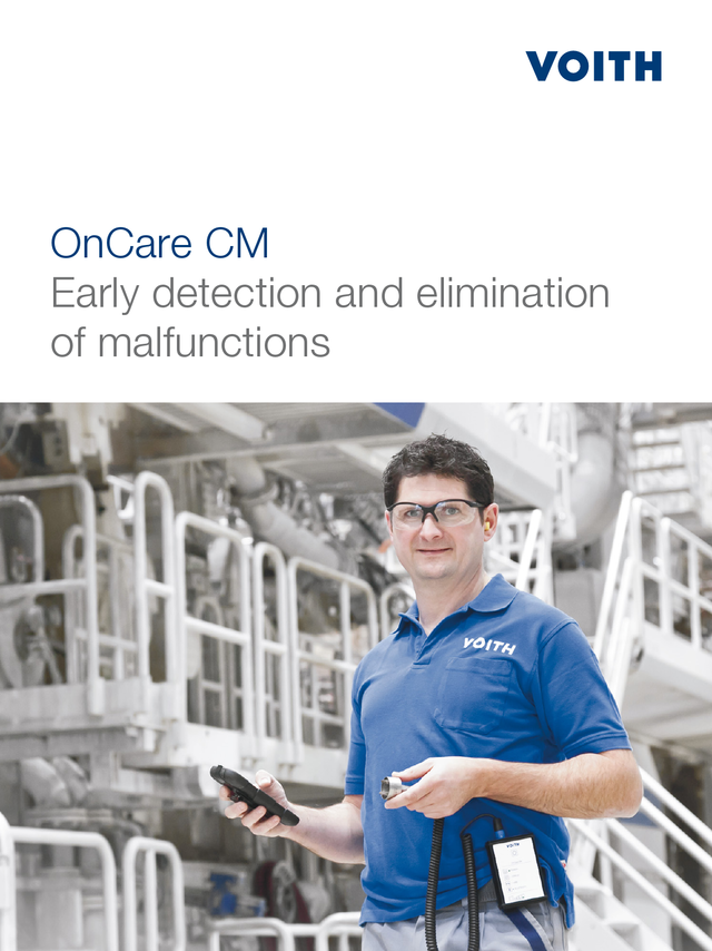 OnCare CM - Early detection and elimination - of malfunctions