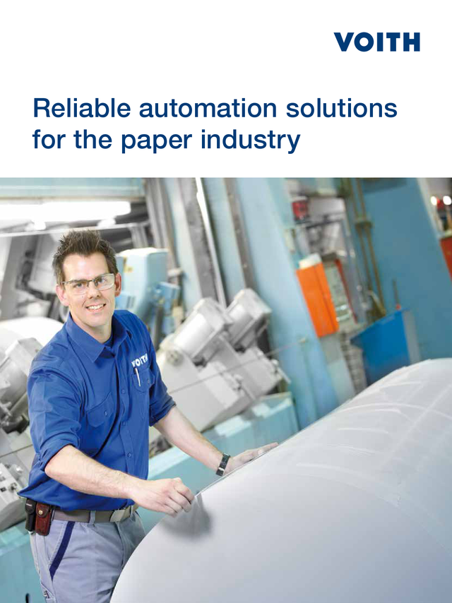 Reliable automation solutions for the paper industry