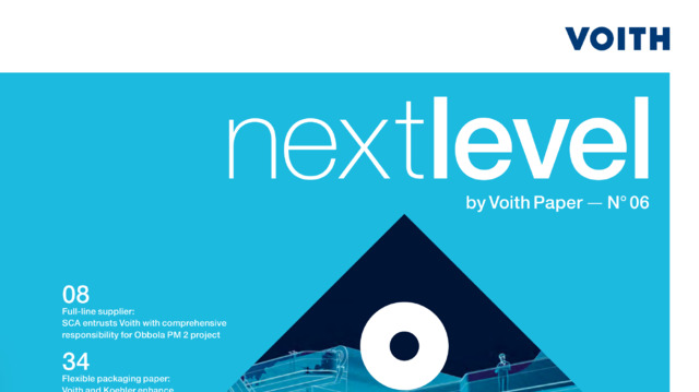 cover Voith Paper customer magazine nextlevel