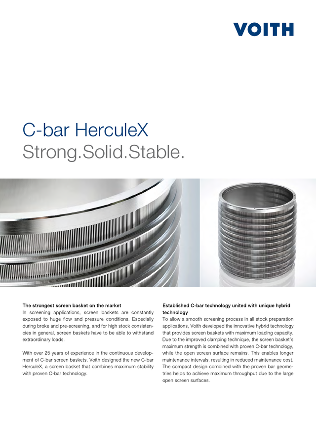 C-bar HerculeX  Strong.Solid. Stable