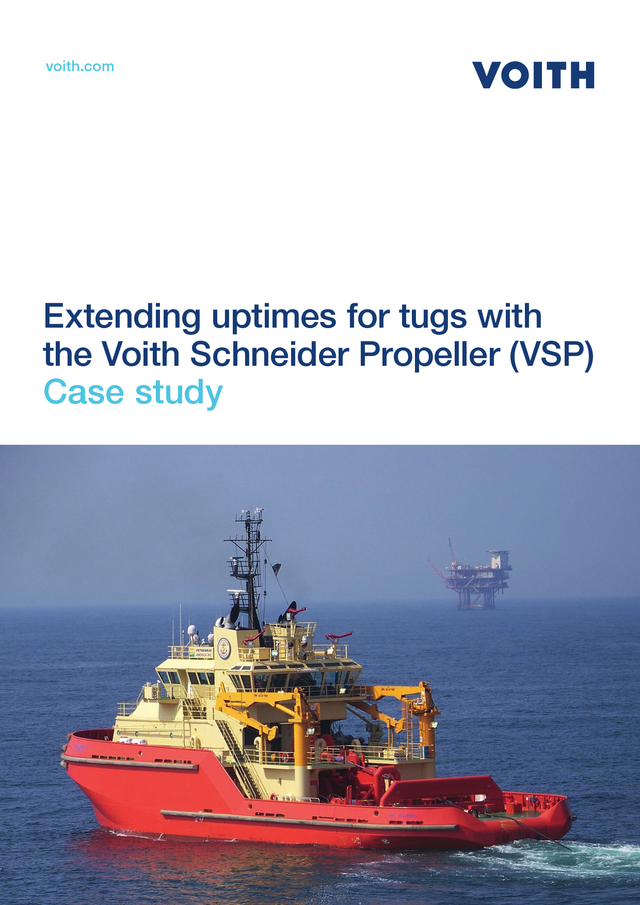 Extending uptimes for tugs with the Voith Schneider Propeller (VSP) Case study