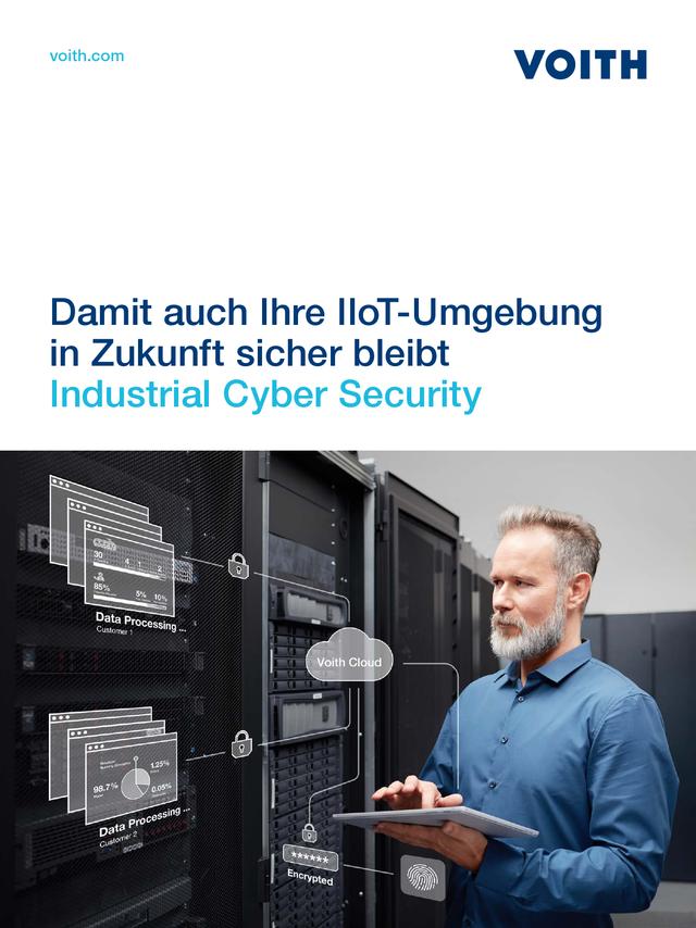 Damit auch Ihre IIoT-Umgebung in Zukunft sicher bleibt - Industrial Cyber Security