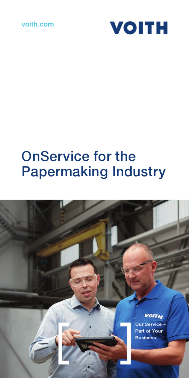 OnService for the Papermaking Industry