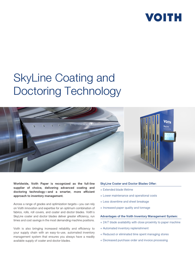 SkyLine Coating and Doctoring Technology