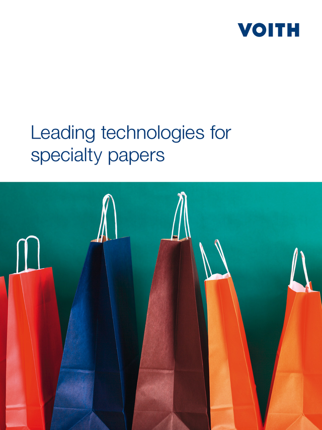 Leading technologies for - specialty papers