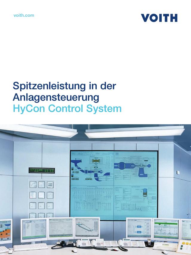 Spitzenleistung in der Anlagensteuerung - HyCon Control System