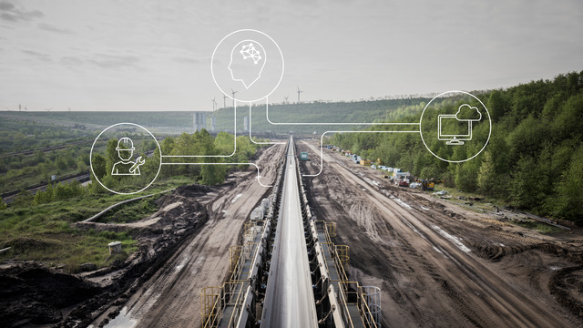 Voith increases efficiency in mining with powerful drive systems and digital applications, such as the level condition & energy monitoring system BeltGenius ERIC