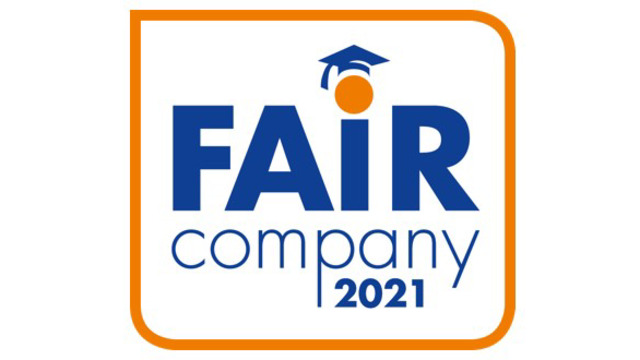 Fair Company award 2021.