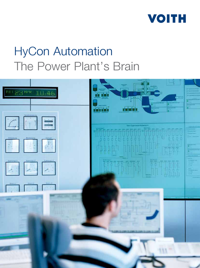 HyCon Automation – The Power Plant's Brain