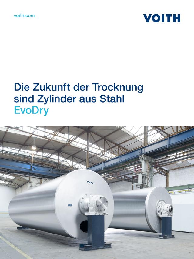 Die Zukunft der Trocknung sind Zylinder aus Stahl – EvoDry