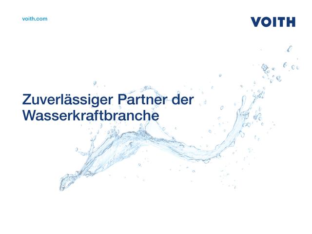Zuverlässiger Partner der Wasserkraftbranche