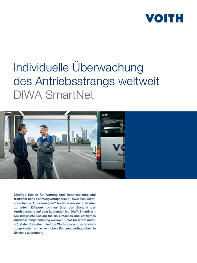 Individuelle Überwachung des Antriebsstrangs weltweit DIWA SmartNet