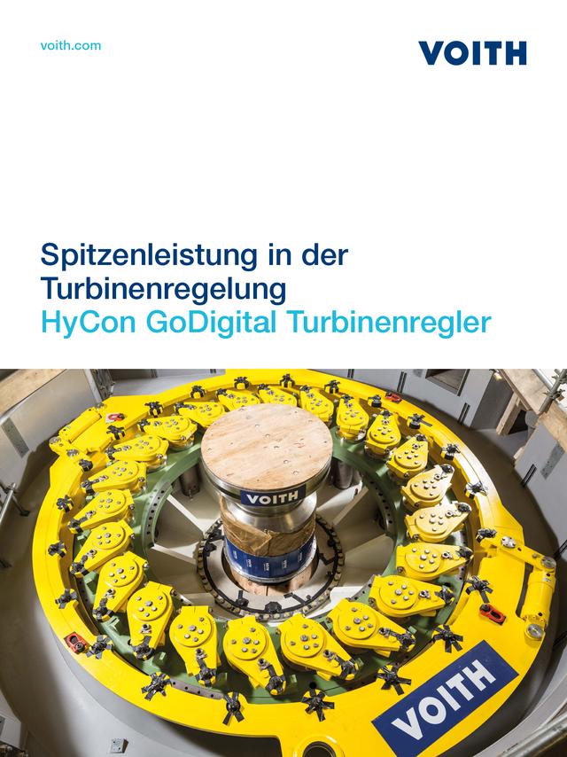 Spitzenleistung in der Turbinenregelung HyCon Digitaler Turbinenregler