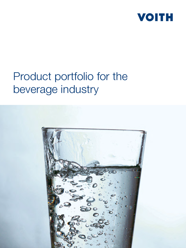 Product portfolio for the beverage industry