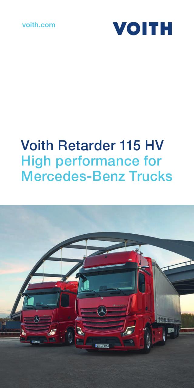 The Aquatarder SWR for Mercedes-Benz Trucks.