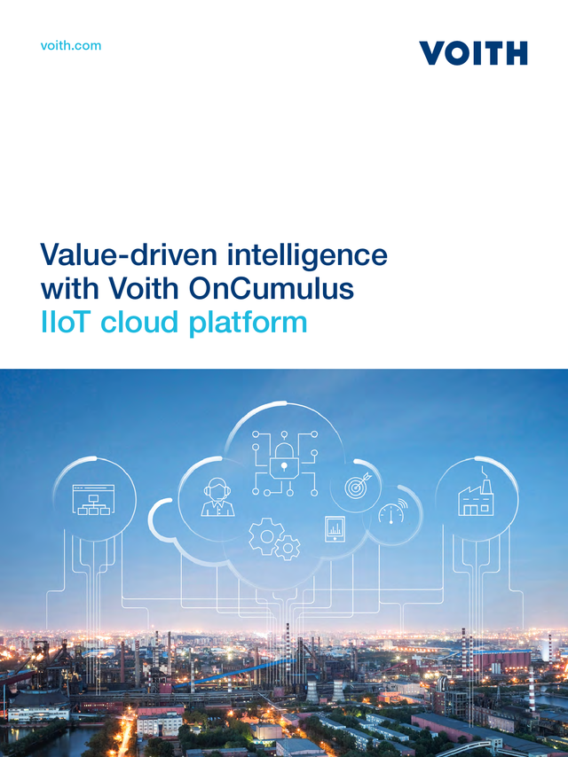 Value-driven Intelligence with Voith OnCumulus