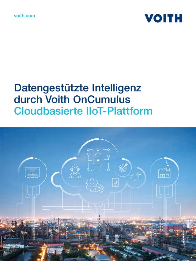 Datengestützte Intelligenz durch Voith